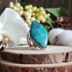 Jay King Turquoise Sterling Silver Ring